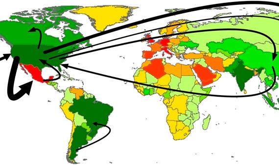 Wasserhandel weltweit